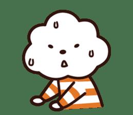 FLUFFY HOUSE (Mr. White Cloud & Friends) sticker #11327629