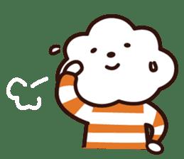 FLUFFY HOUSE (Mr. White Cloud & Friends) sticker #11327630