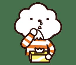 FLUFFY HOUSE (Mr. White Cloud & Friends) sticker #11327633