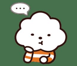 FLUFFY HOUSE (Mr. White Cloud & Friends) sticker #11327634
