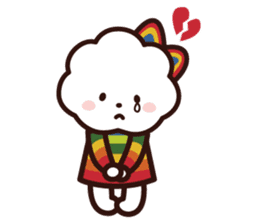 FLUFFY HOUSE (Mr. White Cloud & Friends) sticker #11327642