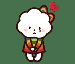 FLUFFY HOUSE (Mr. White Cloud & Friends) sticker #11327642