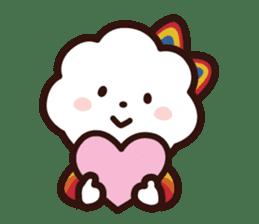 FLUFFY HOUSE (Mr. White Cloud & Friends) sticker #11327644