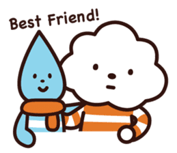FLUFFY HOUSE (Mr. White Cloud & Friends) sticker #11327651