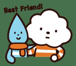 FLUFFY HOUSE (Mr. White Cloud & Friends) sticker #11327651
