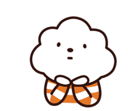 FLUFFY HOUSE (Mr. White Cloud & Friends) sticker #11327652