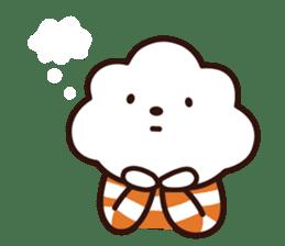 FLUFFY HOUSE (Mr. White Cloud & Friends) sticker #11327652