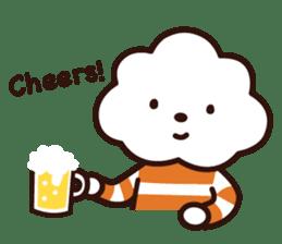 FLUFFY HOUSE (Mr. White Cloud & Friends) sticker #11327659