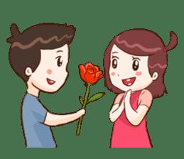 The Cute Lovers sticker #11328024