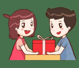 The Cute Lovers sticker #11328031