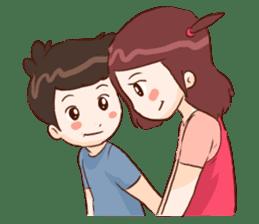 The Cute Lovers sticker #11328036