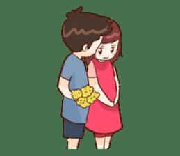 The Cute Lovers sticker #11328042