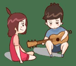 The Cute Lovers sticker #11328046