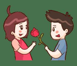 The Cute Lovers sticker #11328049