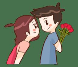 The Cute Lovers sticker #11328053