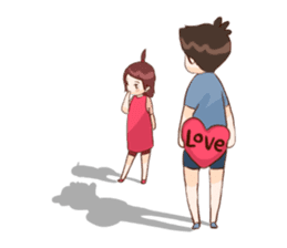 The Cute Lovers sticker #11328062