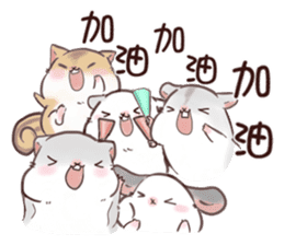 Hachito Mouse Life sticker #11328609