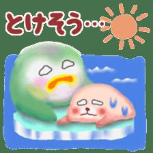 Friends of Pempem in summer sticker #11328762