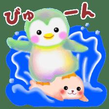 Friends of Pempem in summer sticker #11328770