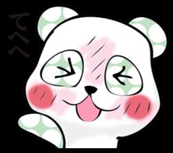 Rather quiet panda 2 sticker #11331887