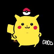 สติ๊กเกอร์ไลน์ Pikachu เมื่อไหร่จะหายซน!