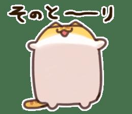 CUBE CAT BROWN TABBY sticker #11337330