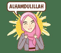 Sisterhood Hijab sticker #11339002