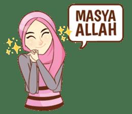 Sisterhood Hijab sticker #11339004