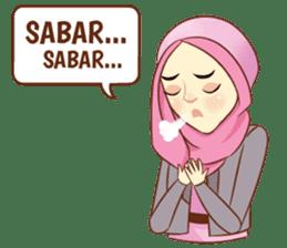 Sisterhood Hijab sticker #11339009