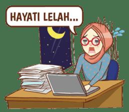 Sisterhood Hijab sticker #11339020