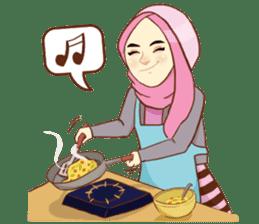 Sisterhood Hijab sticker #11339034