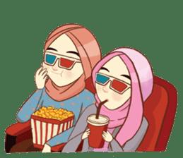 Sisterhood Hijab sticker #11339037