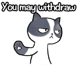 Cat rule the world(english) sticker #11346109