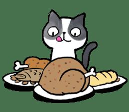 Cat rule the world(english) sticker #11346111