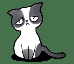Cat rule the world(english) sticker #11346125
