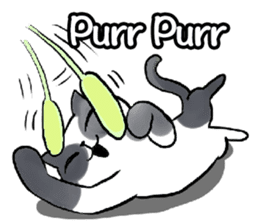 Cat rule the world(english) sticker #11346128