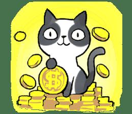 Cat rule the world(english) sticker #11346129