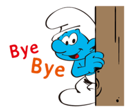 Welcome to the Smurfs Town! sticker #11354375