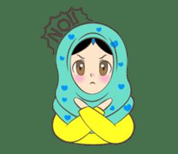 New Leena love hijab Funny Cutie sticker #11378752