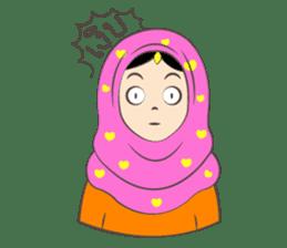 New Leena love hijab Funny Cutie sticker #11378754