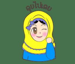 New Leena love hijab Funny Cutie sticker #11378759