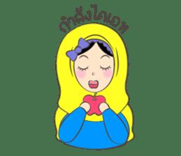 New Leena love hijab Funny Cutie sticker #11378774