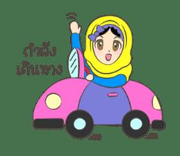 New Leena love hijab Funny Cutie sticker #11378776