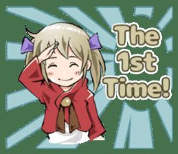 Online! Hizumi-chan Lv.1+e sticker #11382944