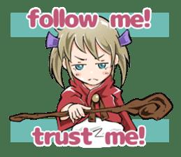 Online! Hizumi-chan Lv.1+e sticker #11382947