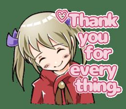 Online! Hizumi-chan Lv.1+e sticker #11382961