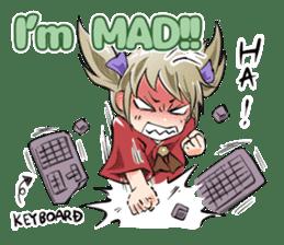 Online! Hizumi-chan Lv.1+e sticker #11382968
