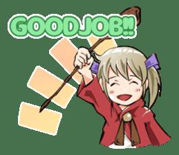 Online! Hizumi-chan Lv.1+e sticker #11382979