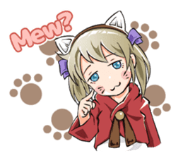 Online! Hizumi-chan Lv.1+e sticker #11382980