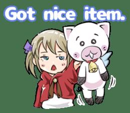 Online! Hizumi-chan Lv.1+e sticker #11382981